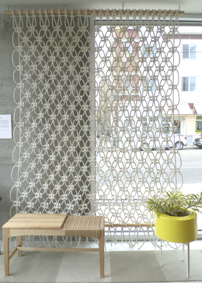 macarame rope wall door hanging