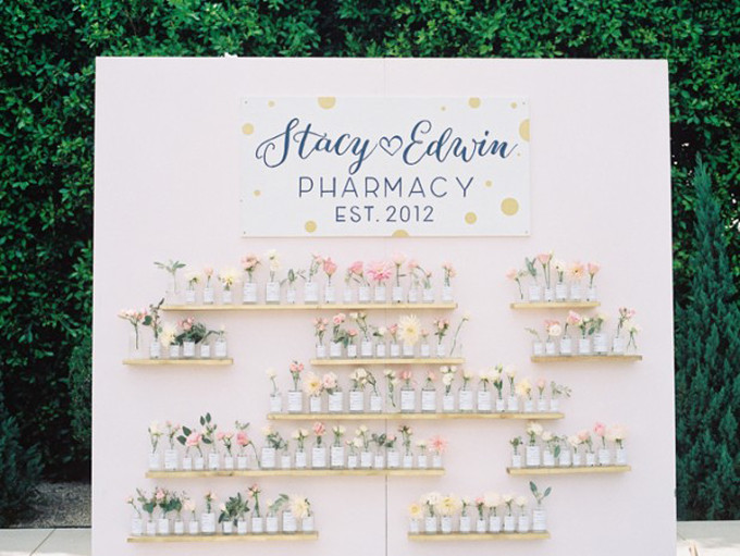 vintage-glass-pharmacy-bottles-wedding-pink-navy-teal-braedon-photography-12-619x465