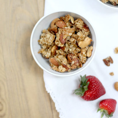How to Make Classic Nutty Granola