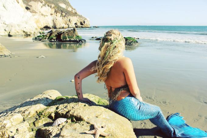 Mermaid-Whitney---beach---neoprene-tail---glitterinc.com