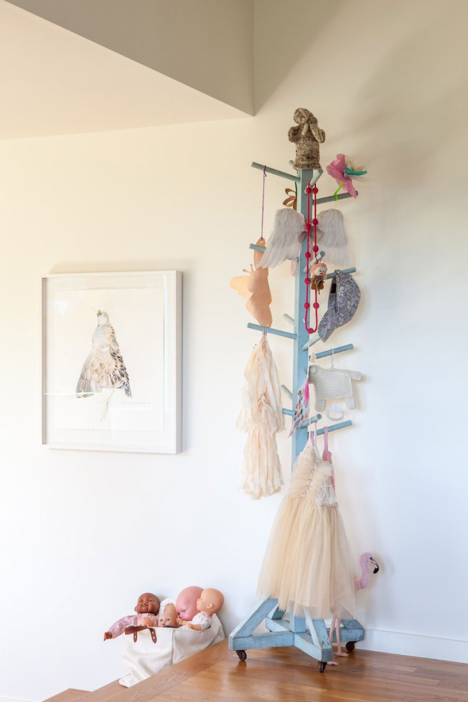 bohemian modern nursery playroom tutus
