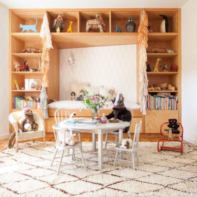 Light-Filled Bohemian Nursery and Playroom