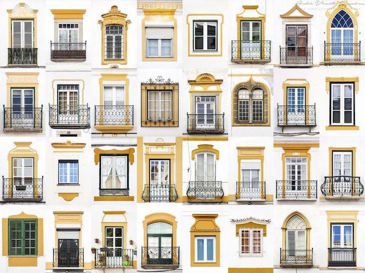 Évora Portugal - Windows of the World