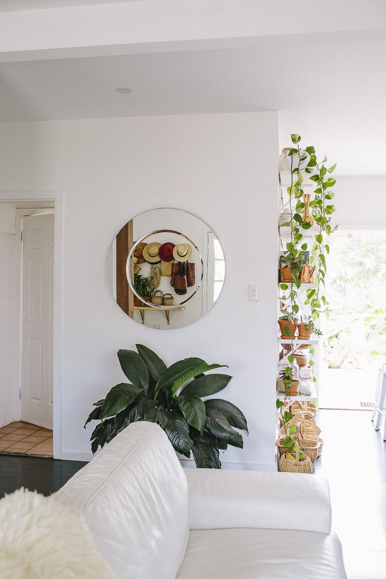 Rustic Bohemian Family Home - Living Room