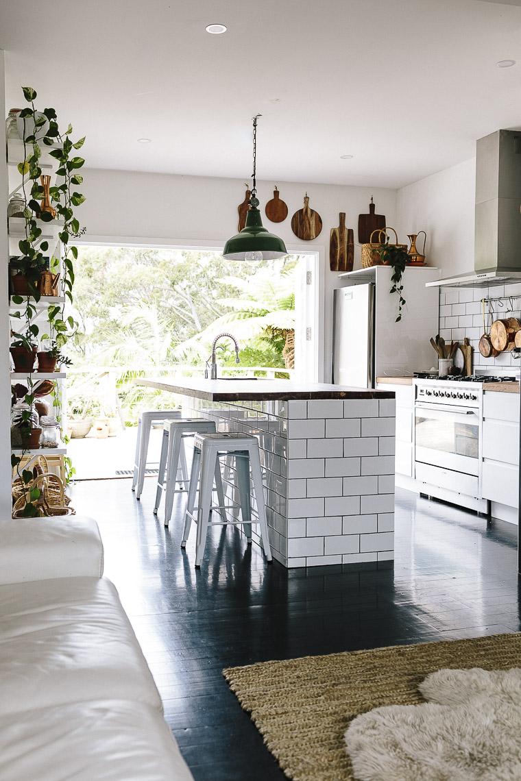 Sleek Bohemian Rustic Family Home Glitter Inc
