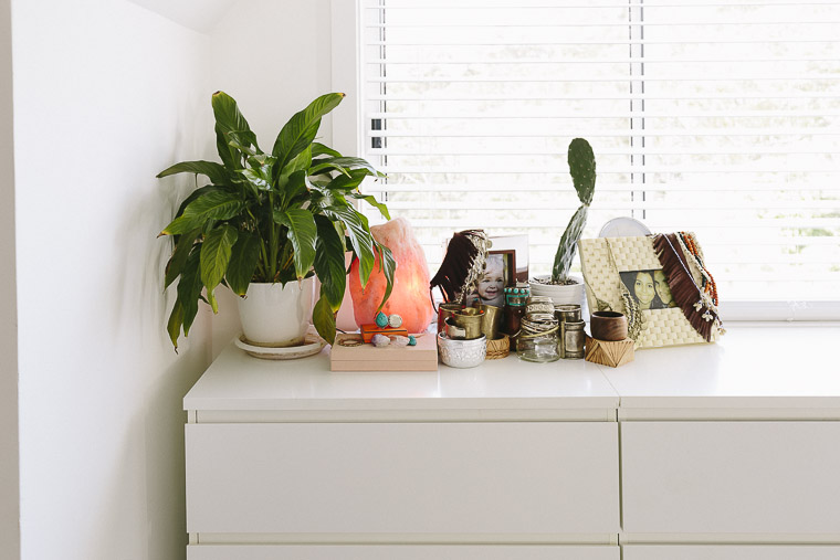 Rustic Bohemian Family Home - bedroom dresser