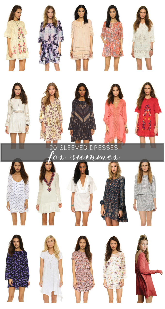 Sleeved-Dresses-for-Summer---glitterinc.com