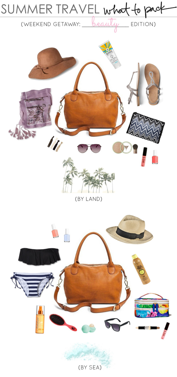 Summer-Travel-Beauty-What-to-Pack-for-a-Weekend-Getaway-_-glitterinc.com