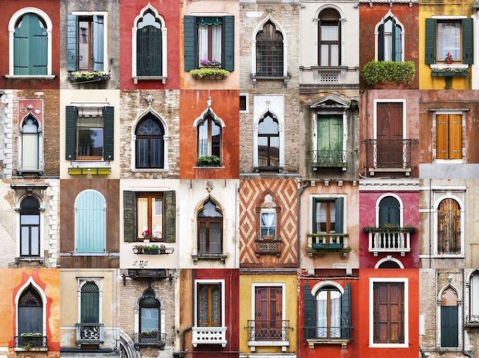 Venice Italy - Windows of the World