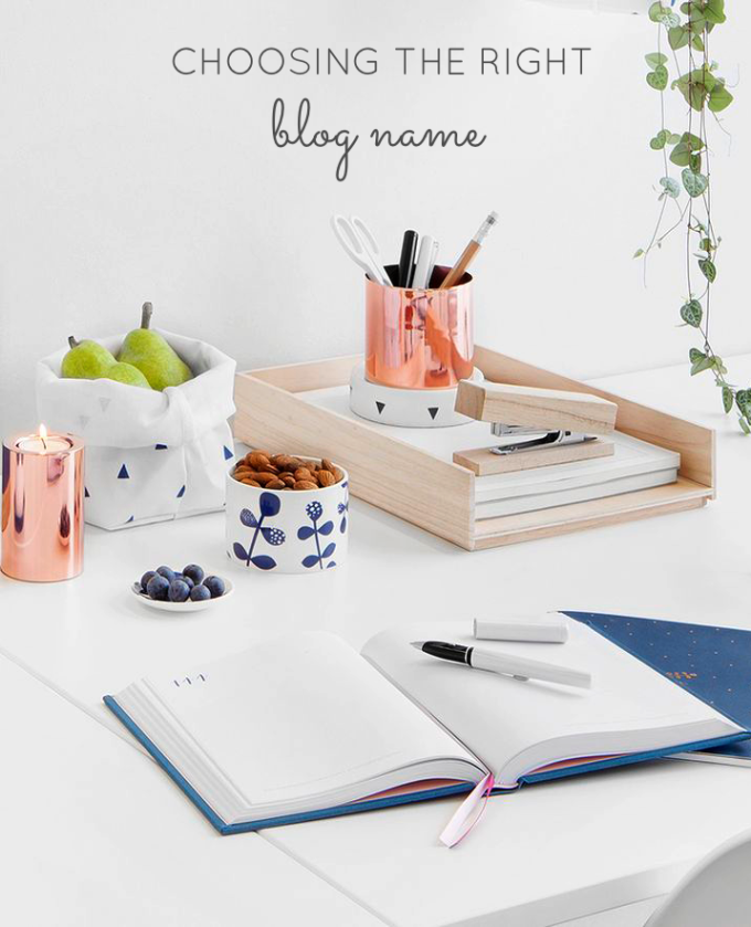 choosing the right blog name - kikki-k-desk-accessories - glitterinc.com