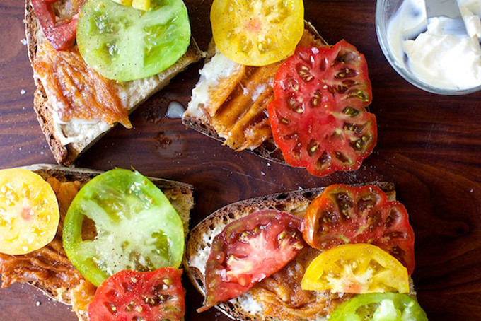 tomato-and-fried-provolone-sandwich