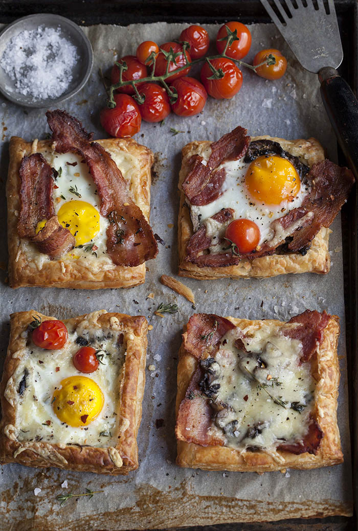 Bacon and Egg Breakfast Pies (perfect to bring for brunch!) via ...