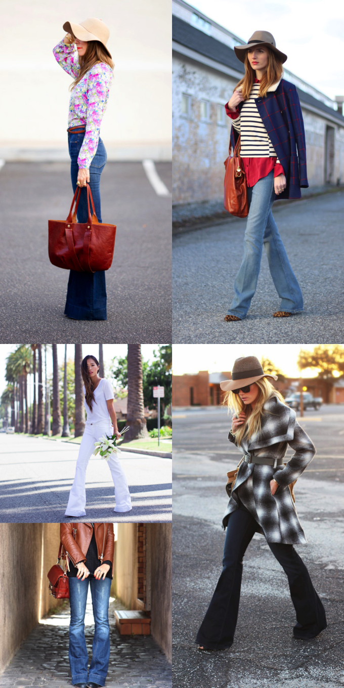 How to Wear and Style Flare Jeans | glitterinc.com