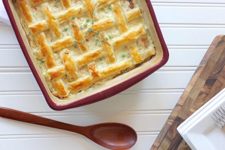 Chicken Pot Pie via Lovely Little Kitchen .