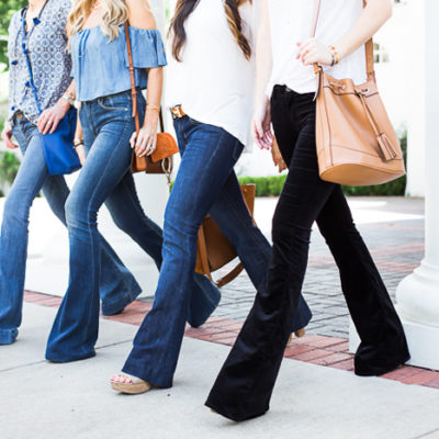 How to Wear Flare Jeans the Right Way