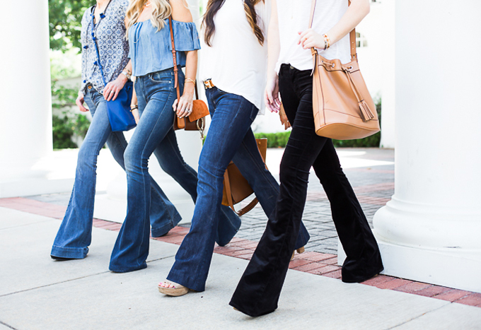 How to Wear Flare Jeans the Right Way | Glitter, Inc.Glitter, Inc.