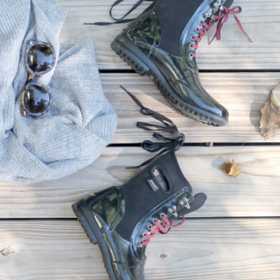 The Perfect Rain Boots + A Giveaway