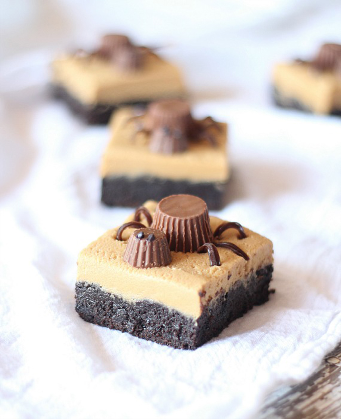 Peanut-Butter-Cup-Cookie-Dough-Spider-Brownies