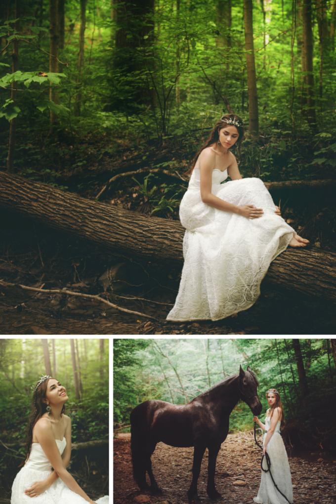 Reign-Inspired Styled Wedding Photo Shoot - glitterinc.com