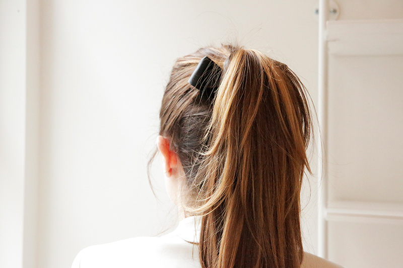The Coolest Trick to Keep Your Perfect Ponytail Up Using Bobby Pins