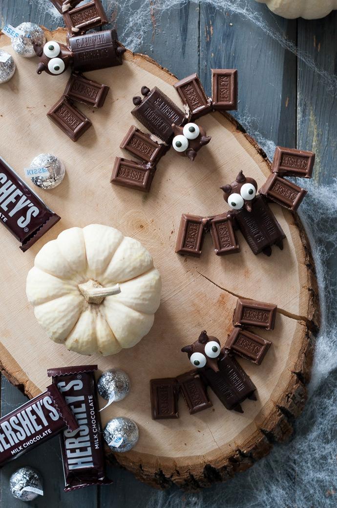 Chocolate Bats for Halloween