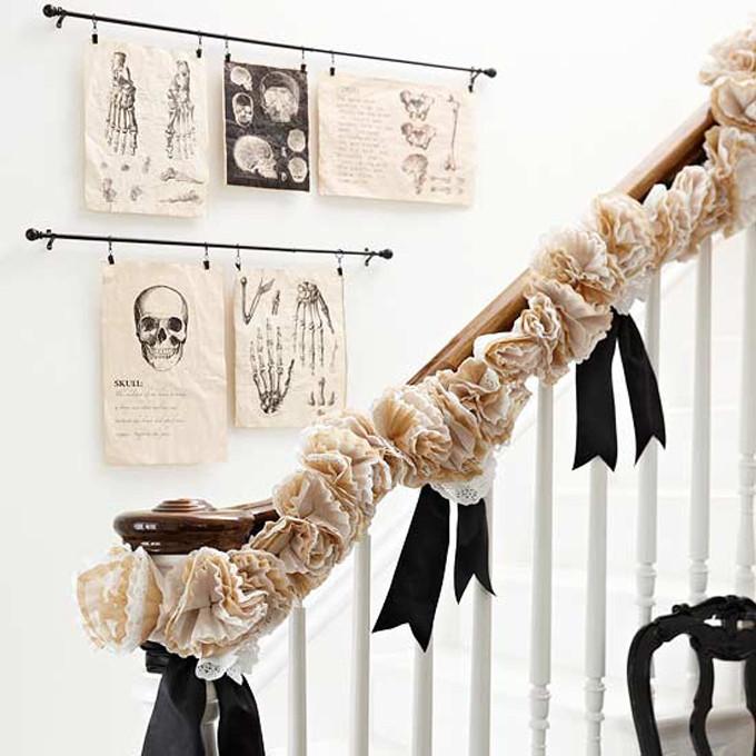 Halloween Ghoulish Stairway DIY