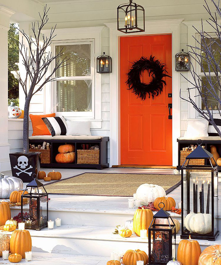 Halloween Patio Front Porch Décor Design