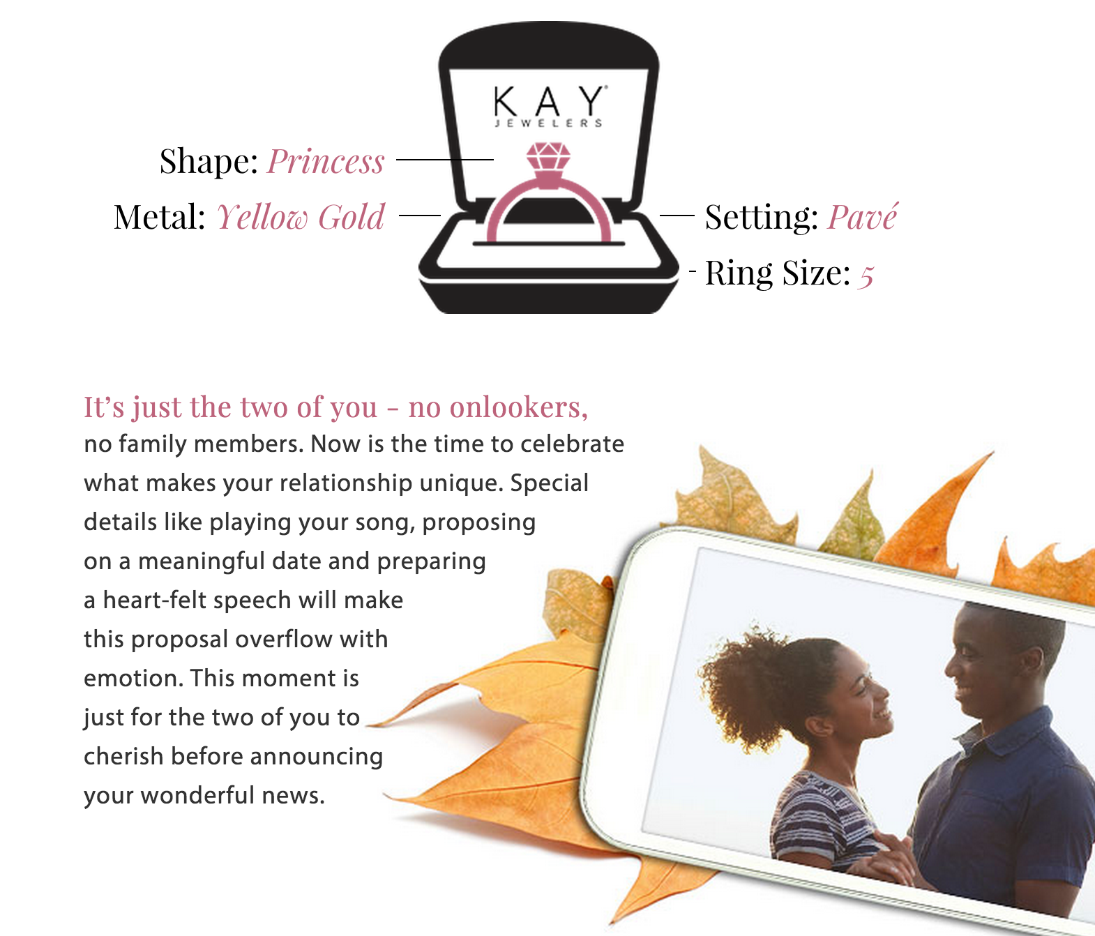 The Perfect Proposal - Kay Jewelers
