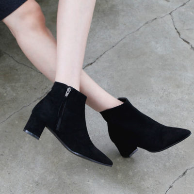 Made for Walking: Low Block-Heel Booties