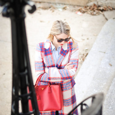 22 Adorable Plaid Statement Coats for Fall + Winter