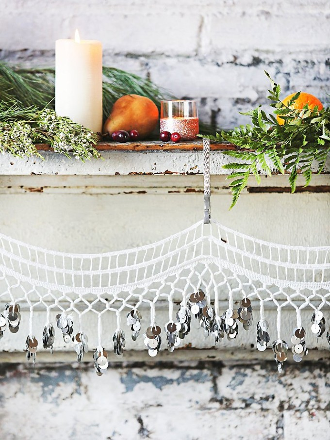 Free People Coin Bandarwa on Christmas Holidays Mantle