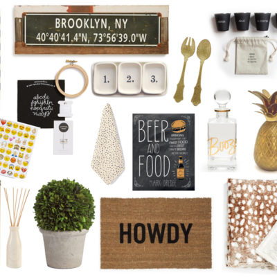 Gift Guide: Gifts {Under $60} to say Thank You to the Host and/or Hostess