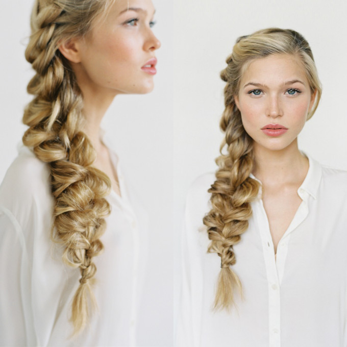 Romantic Side Braid Tutorial