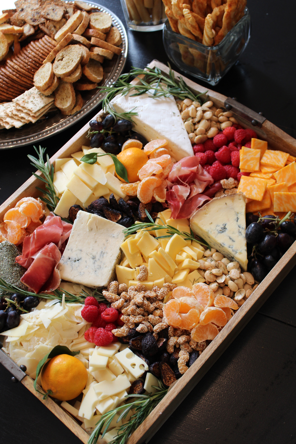 Rustic Cheese, Fruit, Nut and Meat Tray