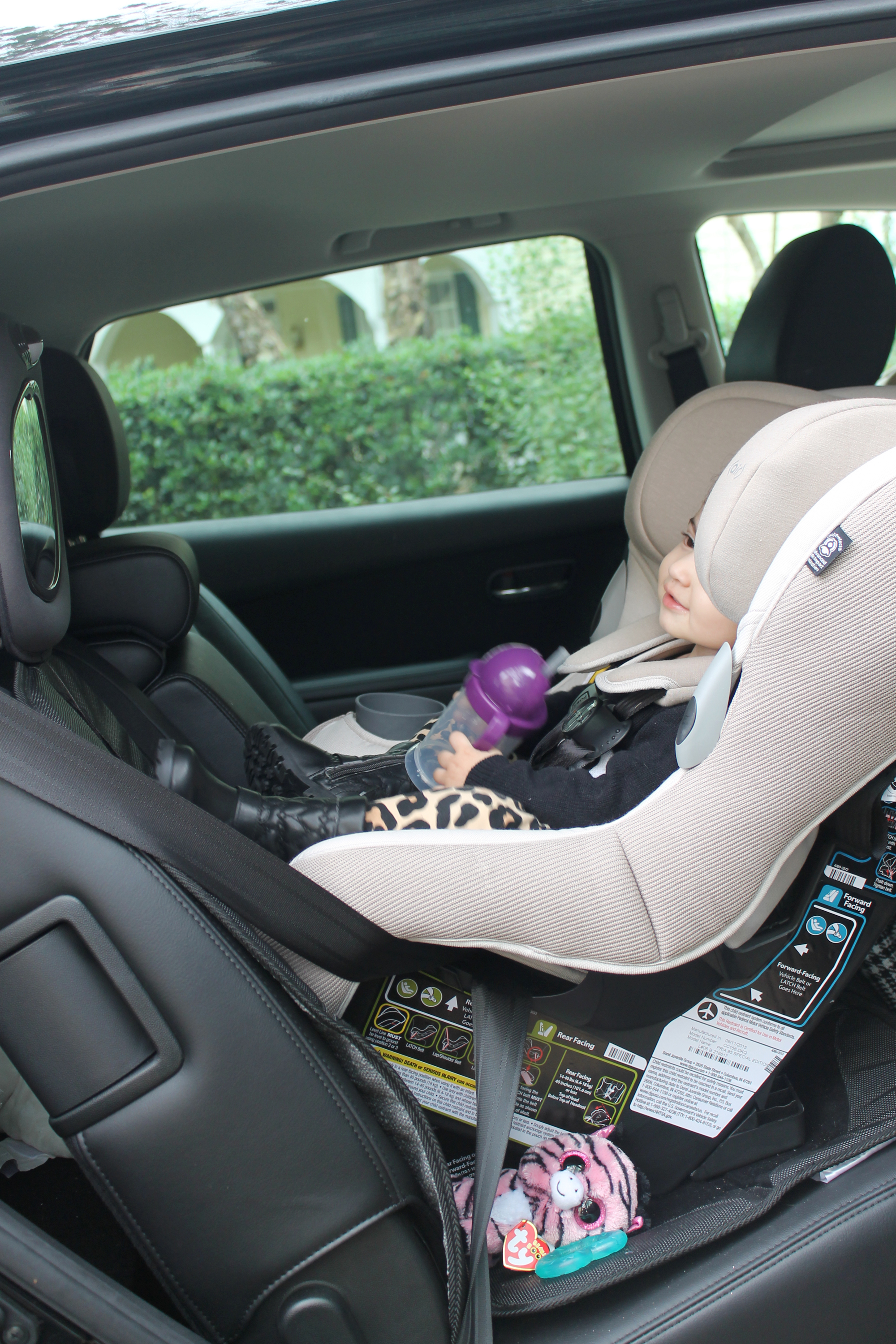 Car Seat Talk: Maxi Cosi Pria 85 Ribble Knit by NC blogger Glitter, Inc.