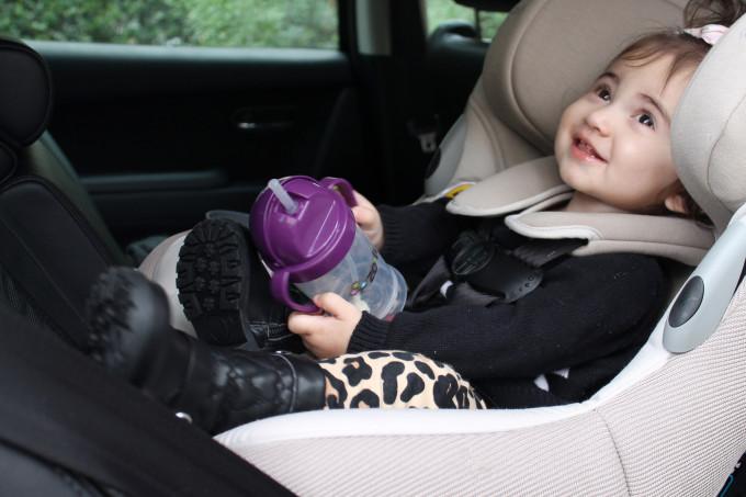 Car Seat Talk: Maxi Cosi Pria 85 Ribble Knit by NC blogger Glitter, Inc.