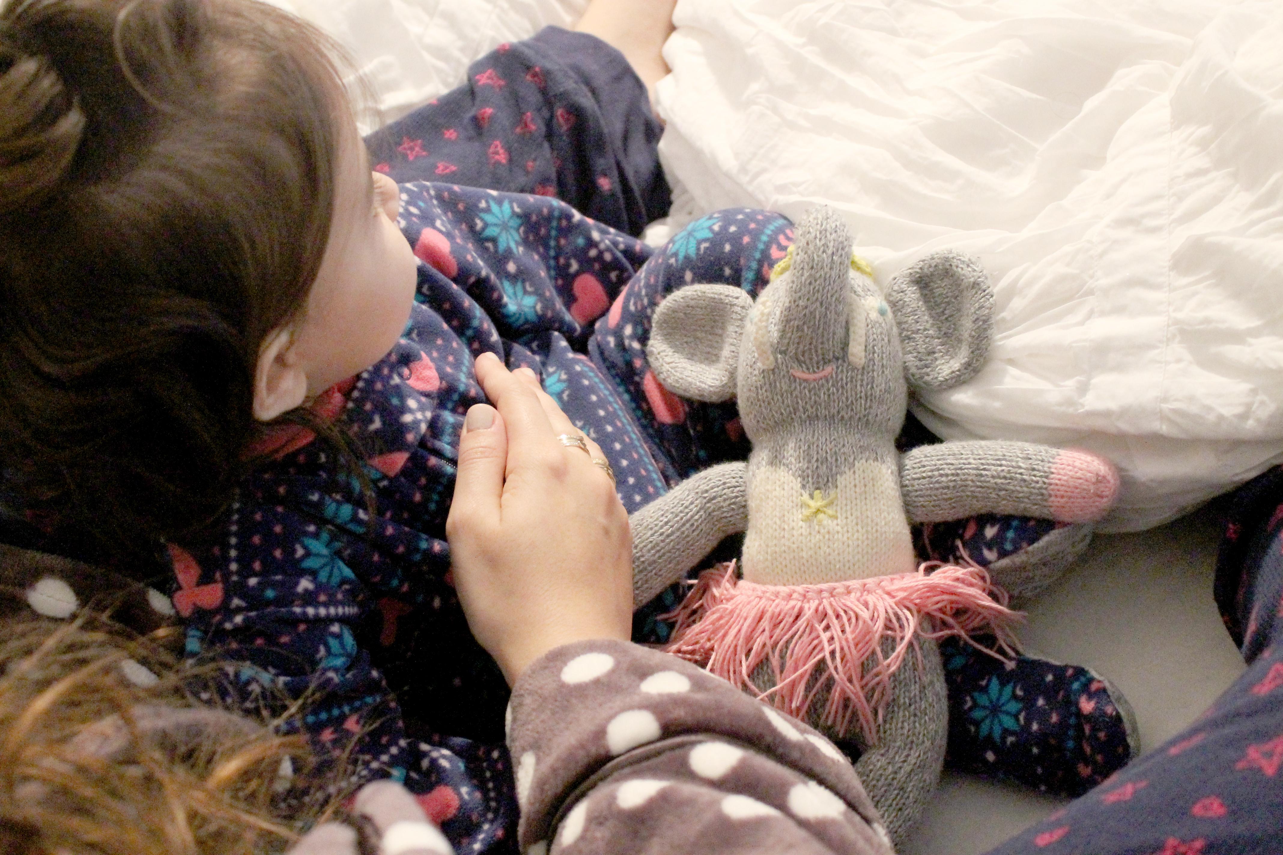 Holiday Pajamas and Robe - Mom and Baby