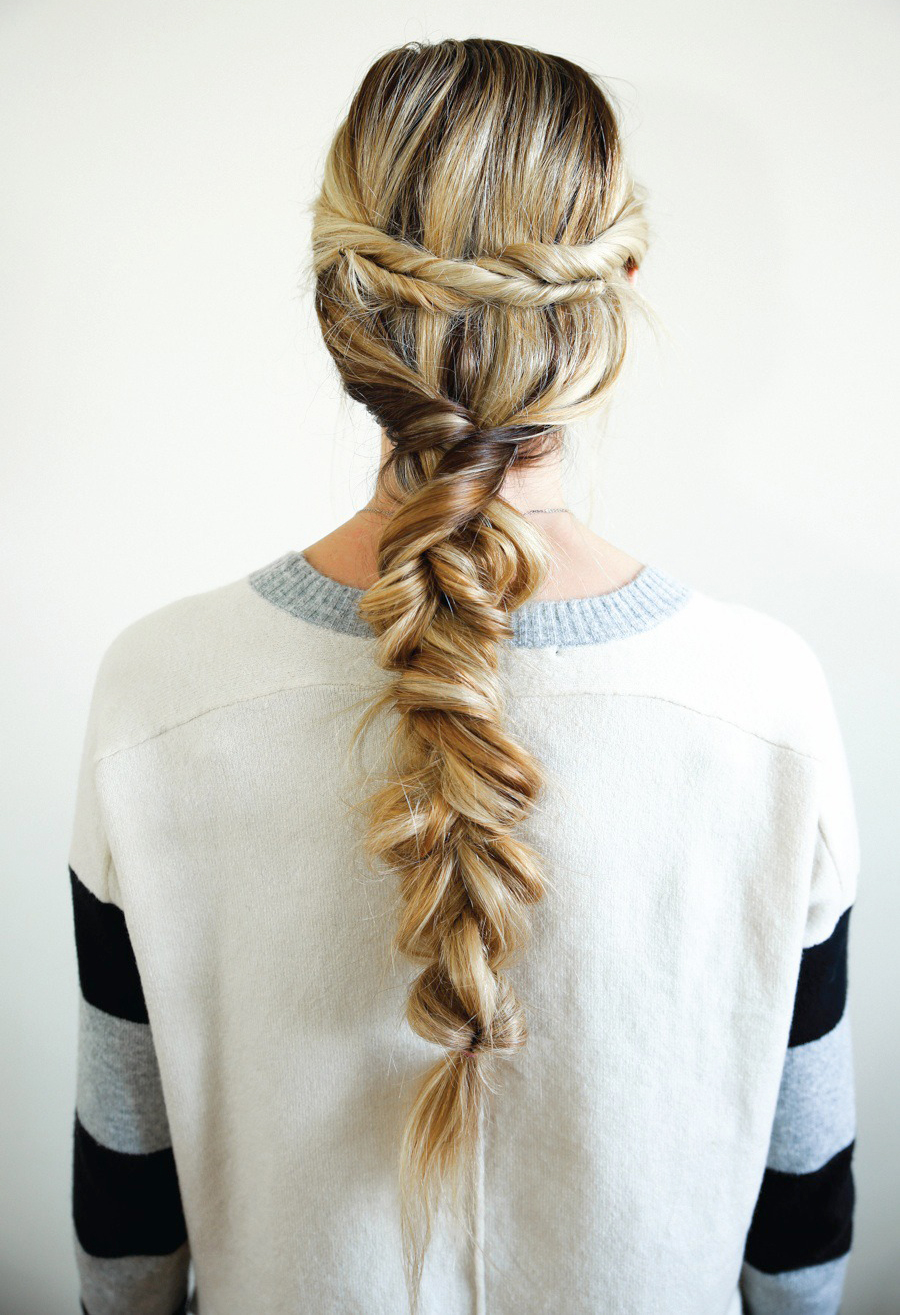 Twisted Braid Tutorial DIY