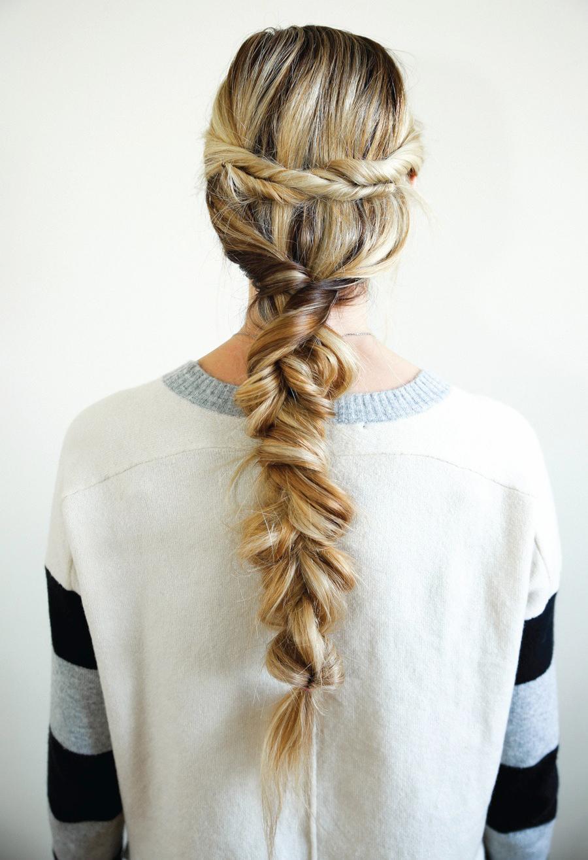 Twisted Braid Tutorial DIY