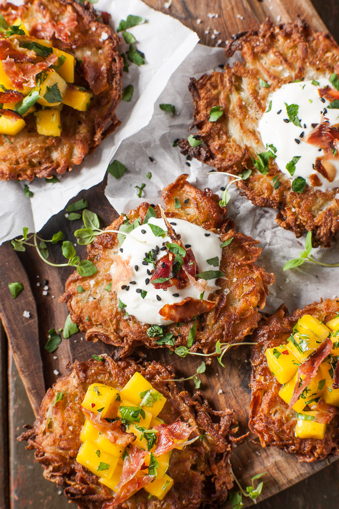 Planning the Menu - 22 Amazing Hannukah Recipes: Crispy Potato Latkes