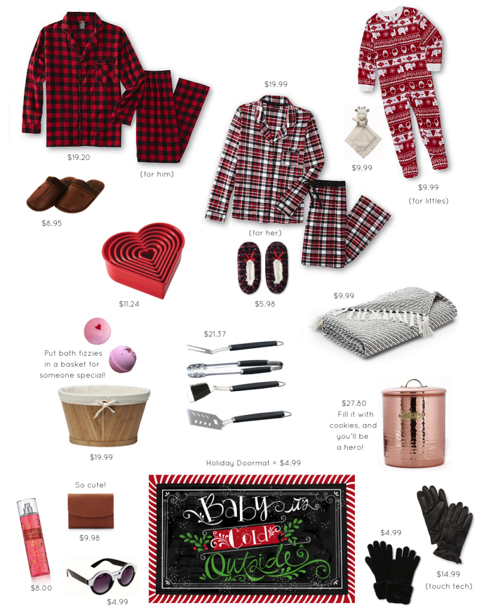 Gift Guide {Holiday Gifts Under $5, $10, and $30}