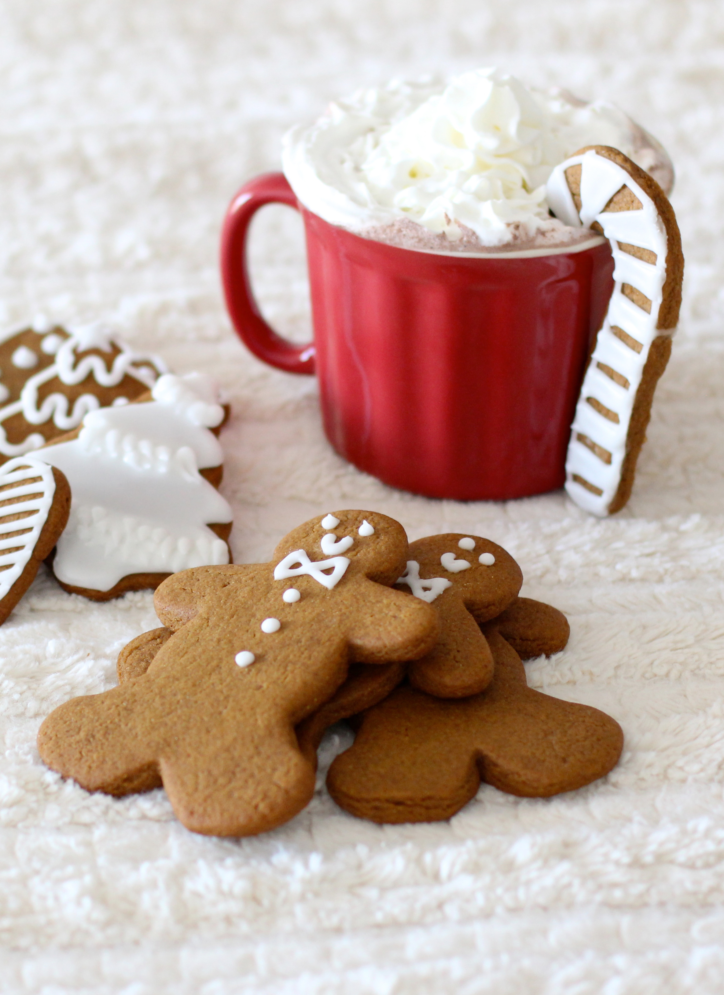 How To Make Frosted Chewy Gingerbread Cookies Glitter