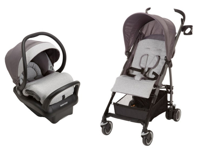 Maxi-Cosi Sweater Collection Special Edition Mico Max 30 Car Seat and Kaia Stroller