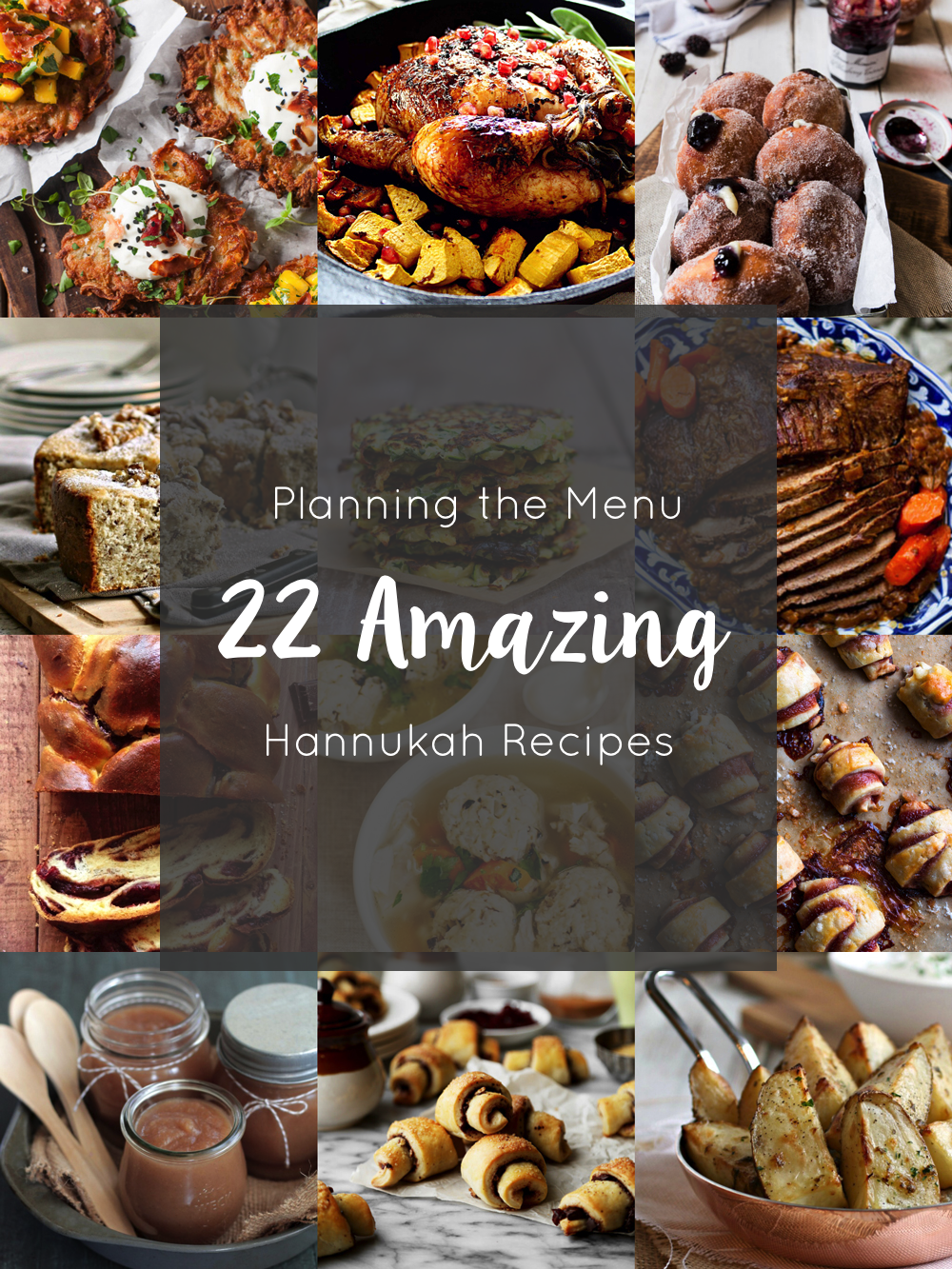Planning the Menu - 22 Amazing Hannukah Recipes