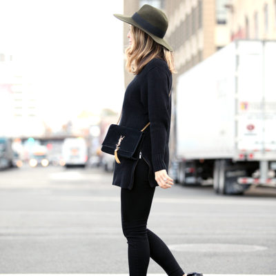 How to Wear An All-Black Outfit