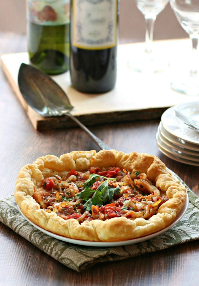 Planning the Menu - 22 Amazing Hannukah Recipes: Tomato and Onion Appetizer Pastries