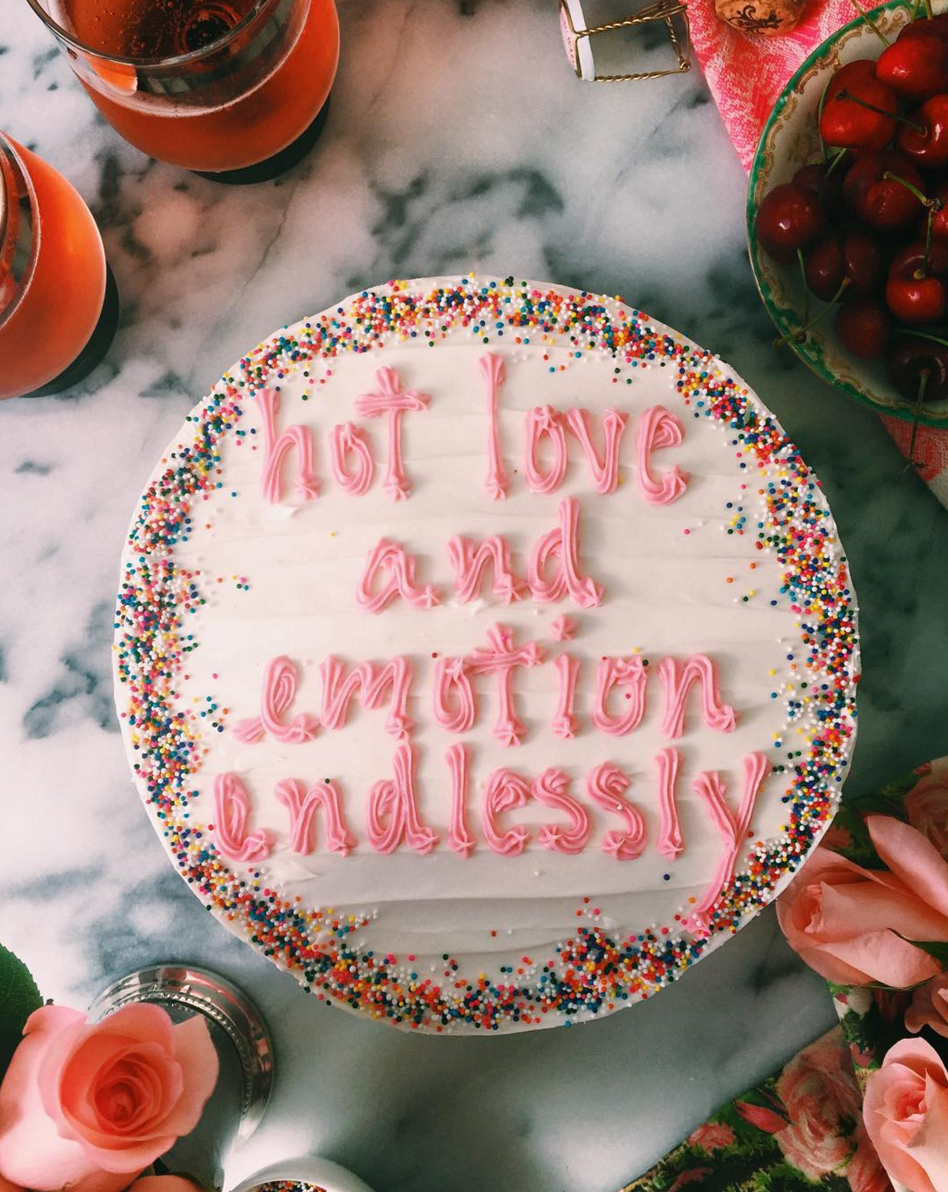 Drake on Cake - Hot Love and Emotion Endlessly