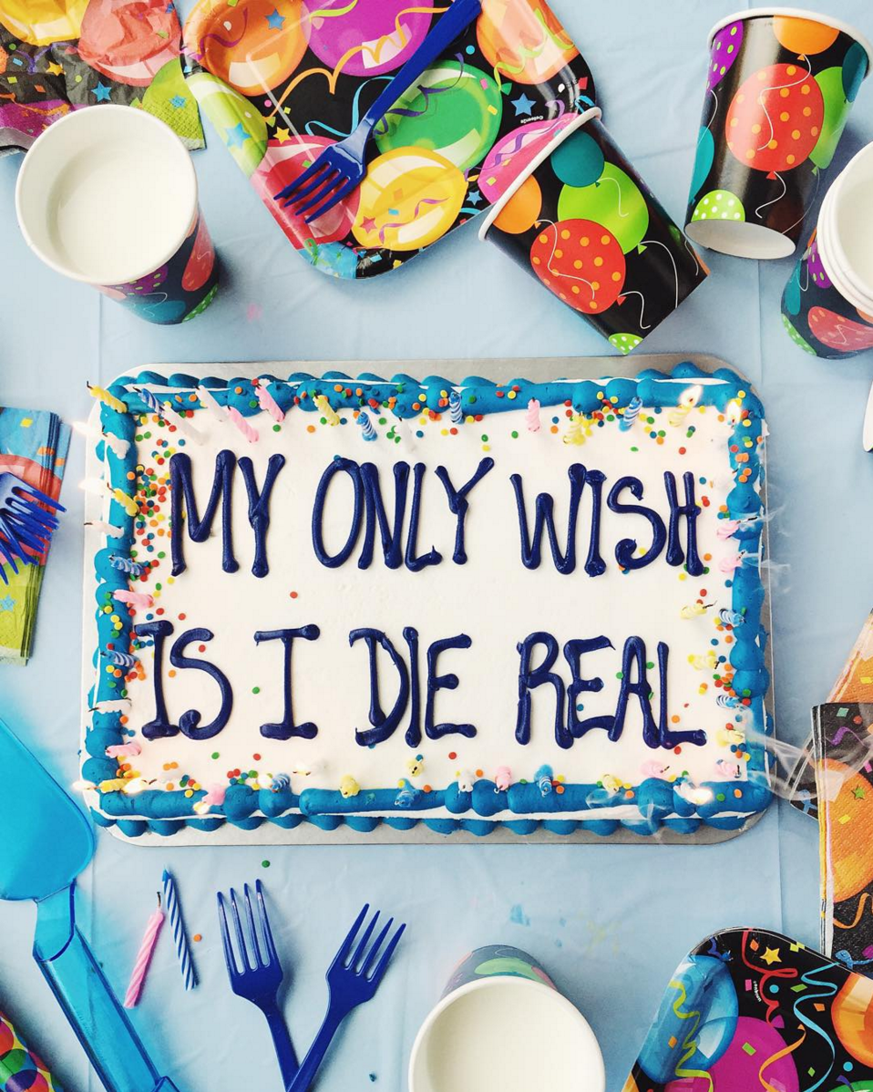 Drake on Cake - My Only Wish is I Die Real