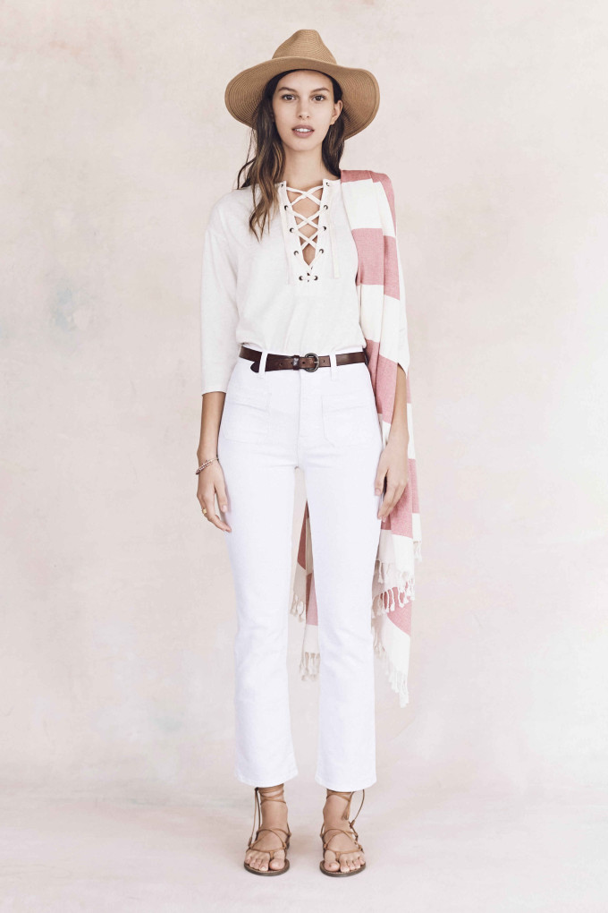 Madewell just released their spring 2016 collection, and trust me, you are going to be clamoring for every single piece. It's just so wearable. - Madewell Spring 2016 Lookbook - Denim White