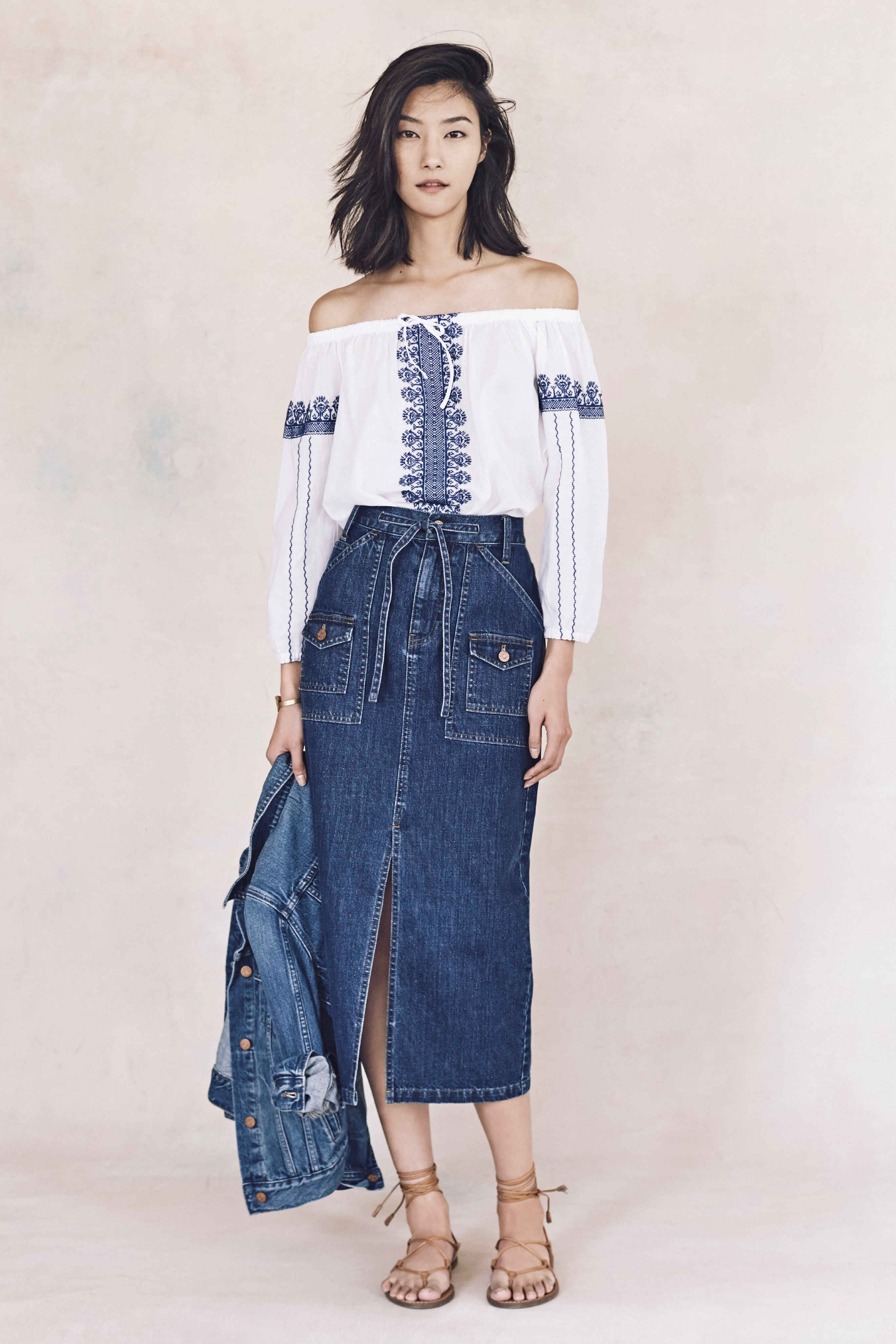 Madewell just released their spring 2016 collection, and trust me, you are going to be clamoring for every single piece. It's just so wearable. - Madewell Spring 2016 Lookbook - Denim
